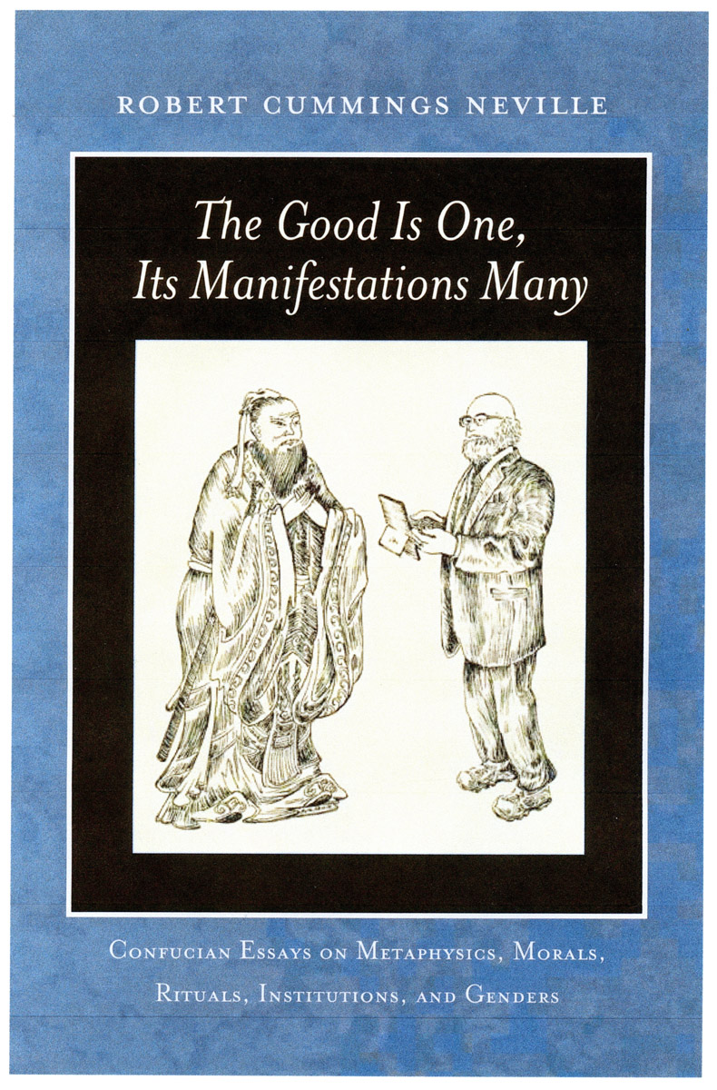 """Book cover: """"The Good Is One Its Manifestations Many"""""""
