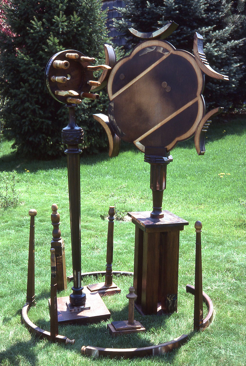 Garden of Delights sculpture installation