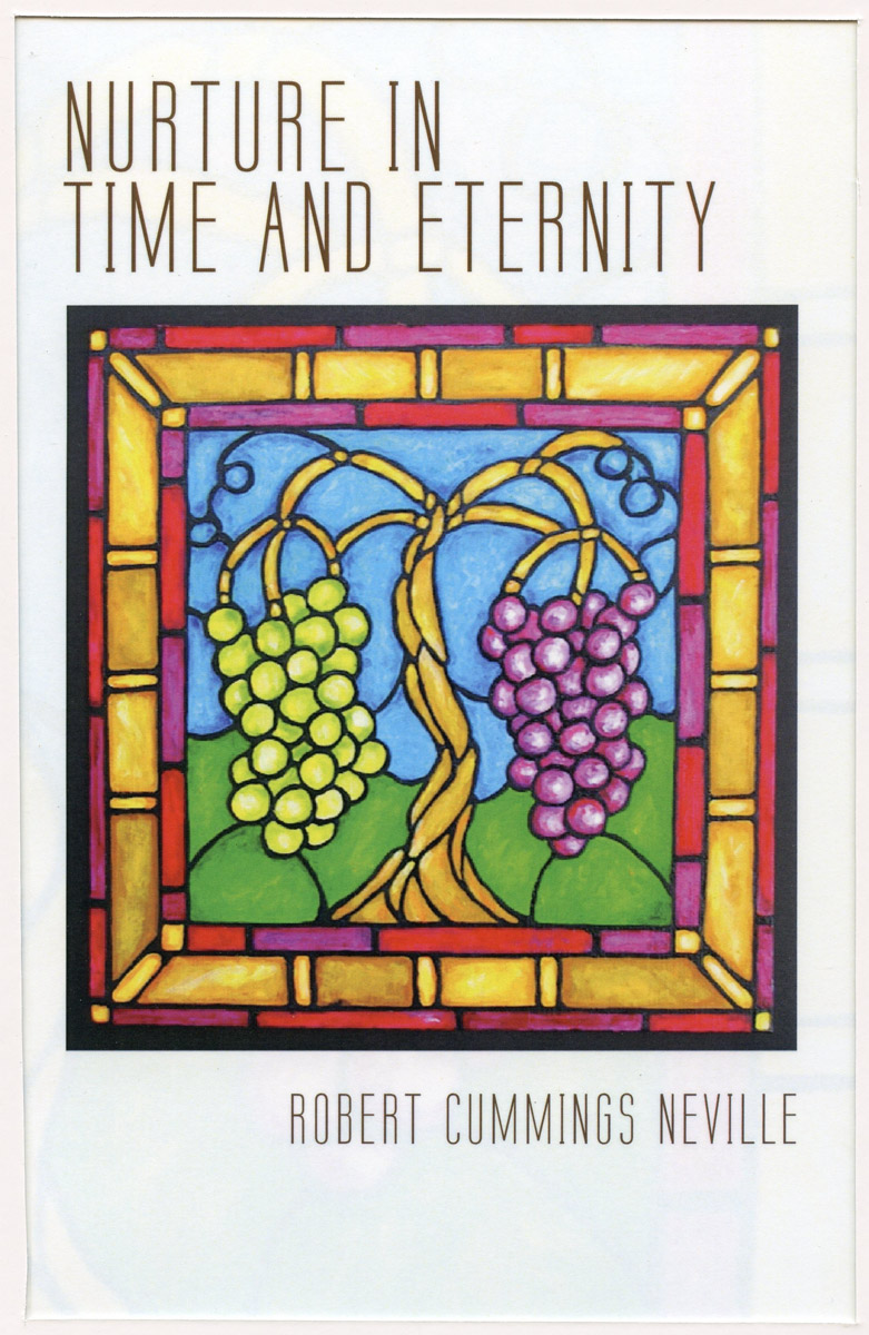 """Book Cover: """"Nurture in Time and Eternity"""""""