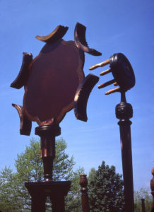 Garden of Delights sculpture, detail