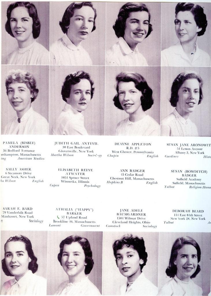 """""""Smith Class of '59 Year Book"""" photos,"""