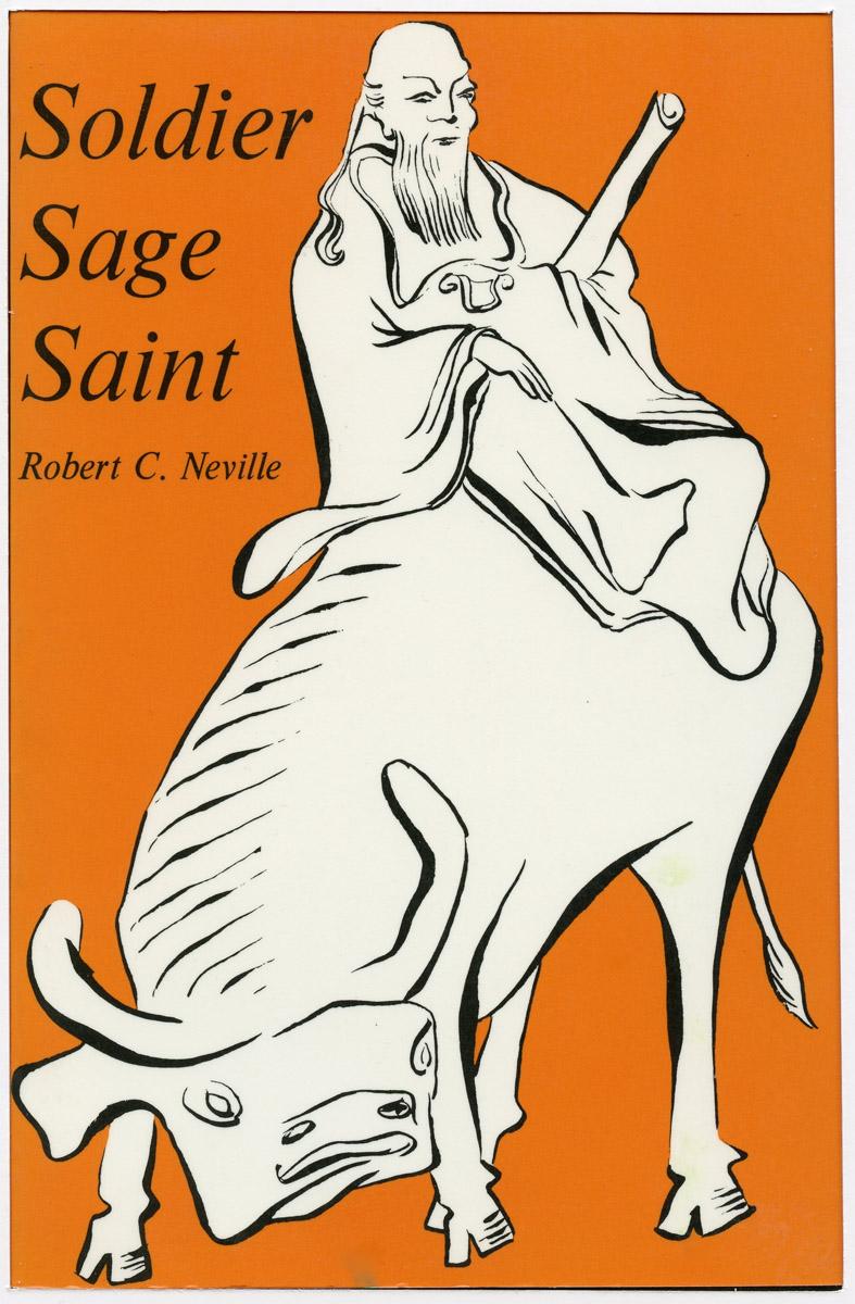 "Book Cover: ""Soldier Sage Saint"""