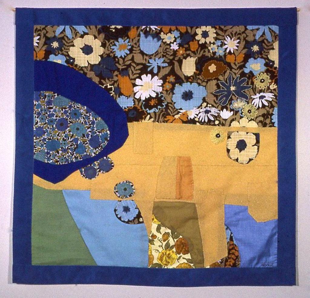 banner: Pale Blue Flowers