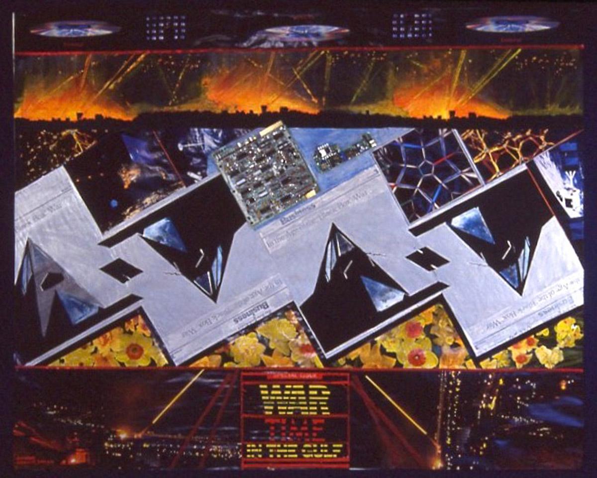 collage: The Iraq War, The Technological War