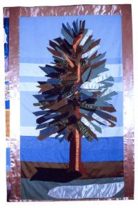 California Coast banner, detail