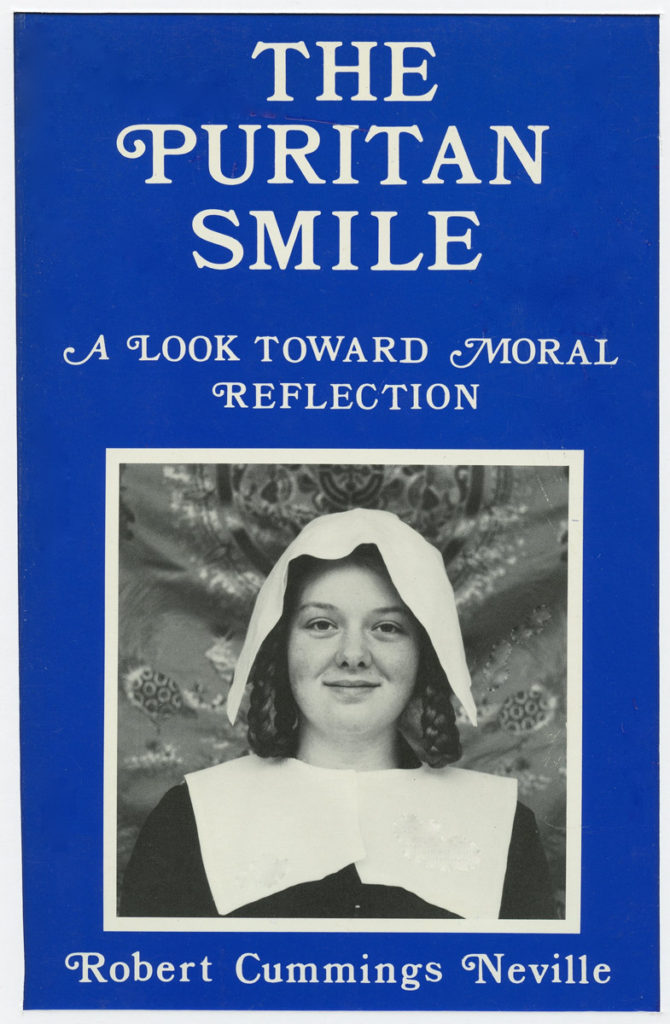 "Book Cover: ""The Puritan Smile"""