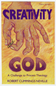 """Book Cover: """"Creativity and God"""""""