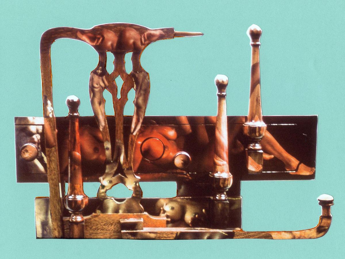 sculpture: Chair Back