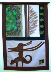 Animal Headdress banner, right side