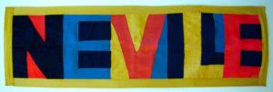 """""""Neville"""" name banner"""