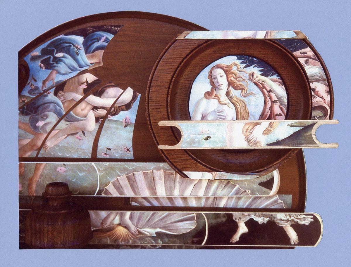 detail of Venus Revisited sculpture