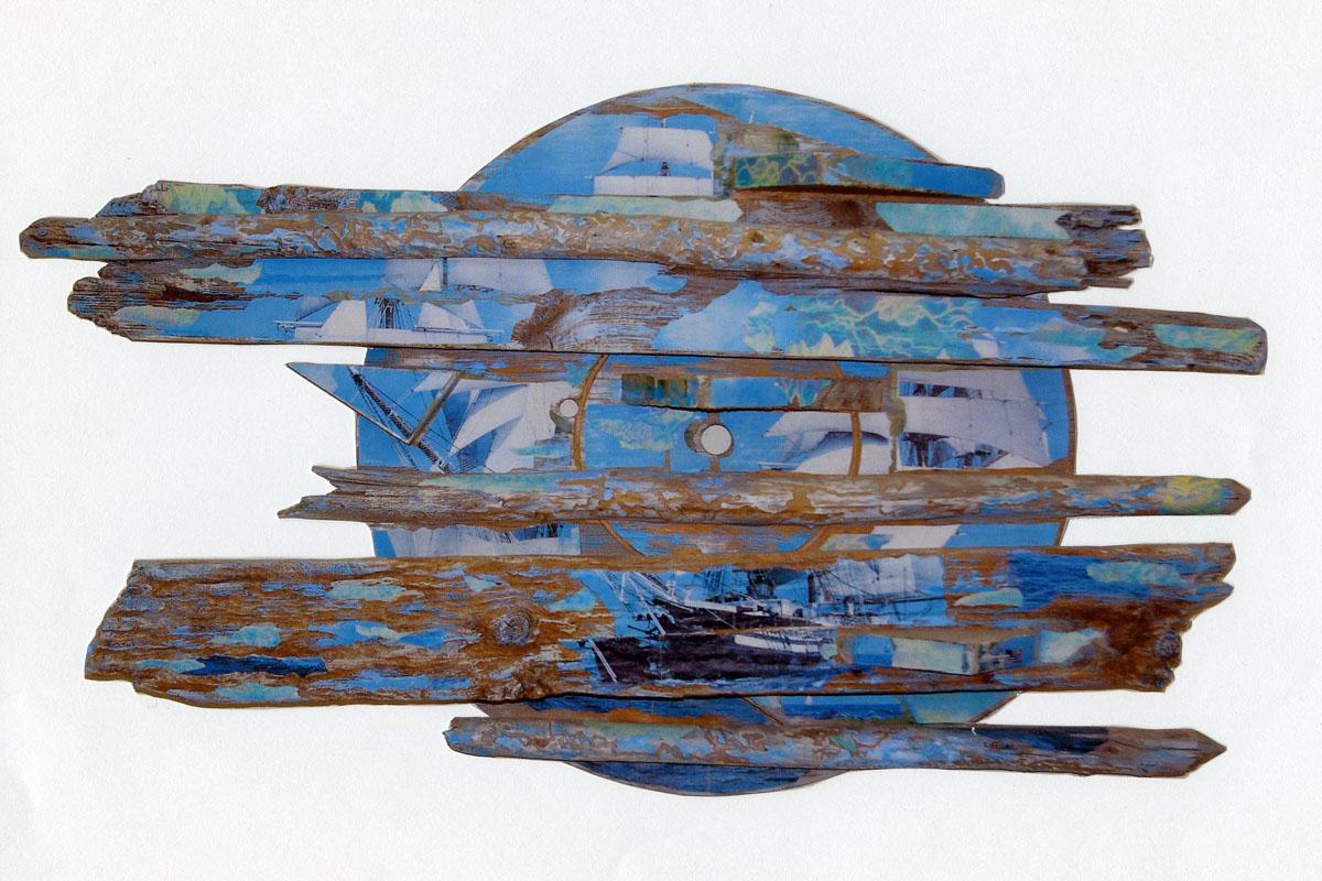 sculpture: Sailing to Newport