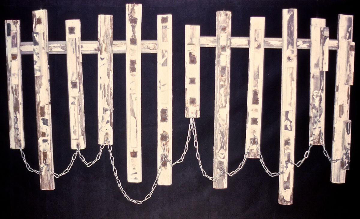 sculpture: Chain Fence