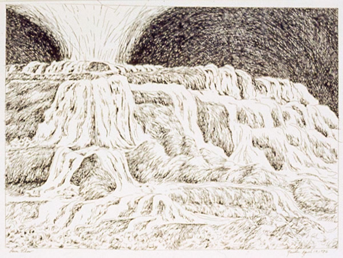 Lava Flow, detail, ERS series