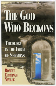 """book cover: """"The God Who Beckons"""""""