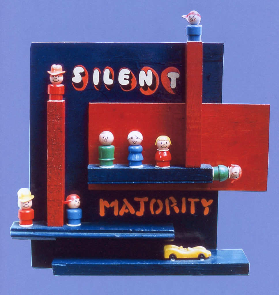 sculpture: Silent Majority
