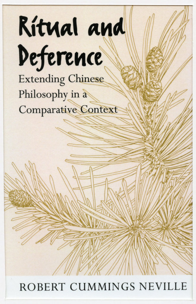 """book cover: """"Ritual and Deference"""""""