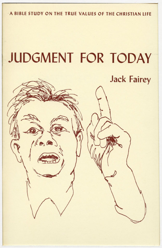 "book cover: ""Judgment for Today"""