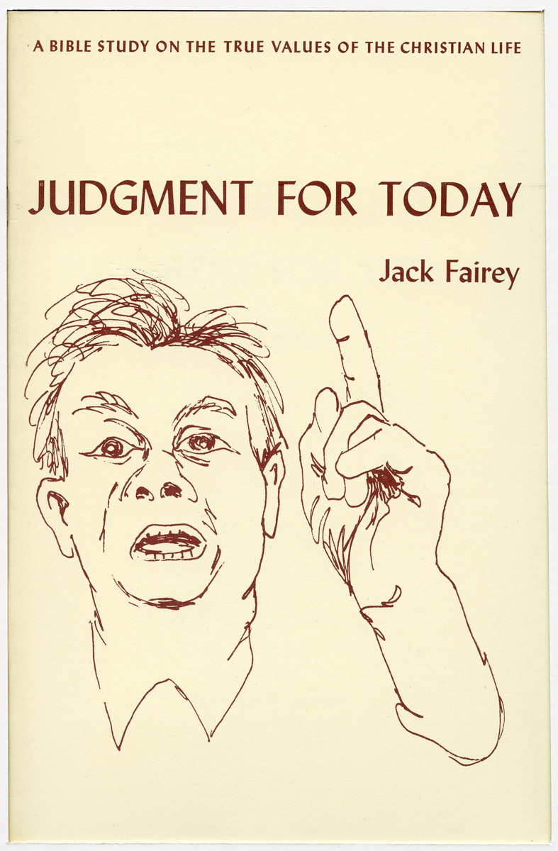"""book cover: """"Judgment for Today"""""""