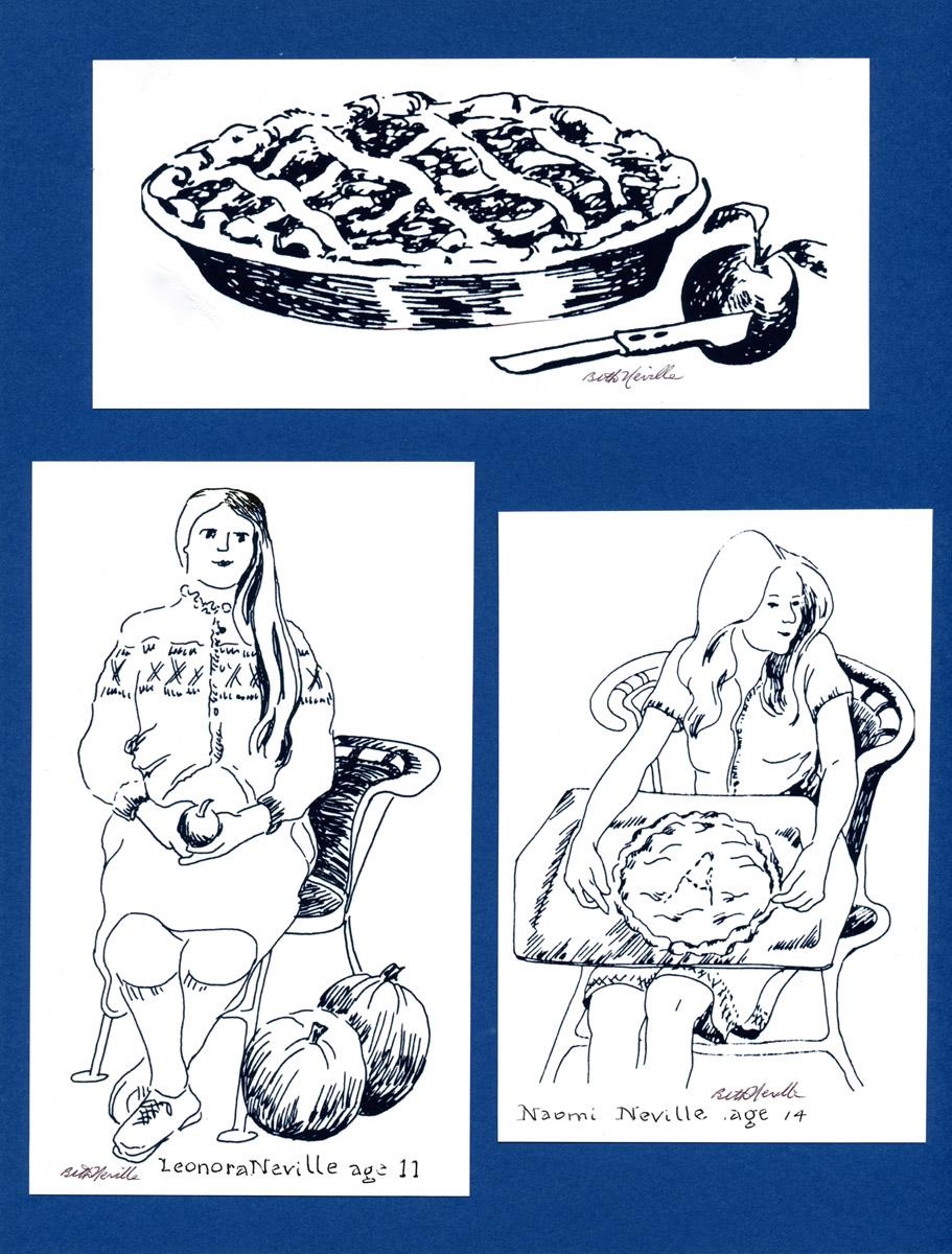 Apple Pie, Naomi, Leonora: Illustration Smith Yearbook