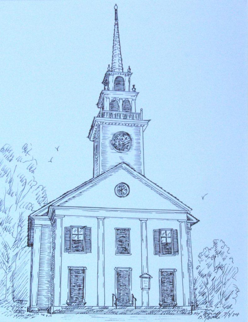 drawing: First Parish Congregation