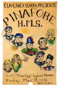 HMS Pinafore program cover 1951
