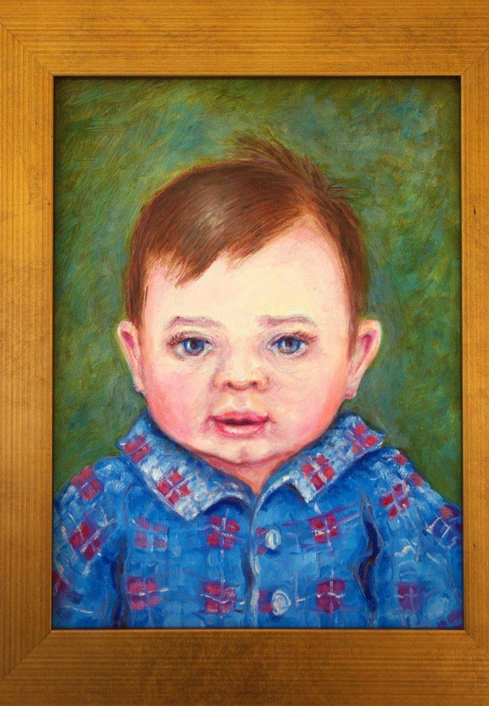 oil portrait of Kyle Chippendale